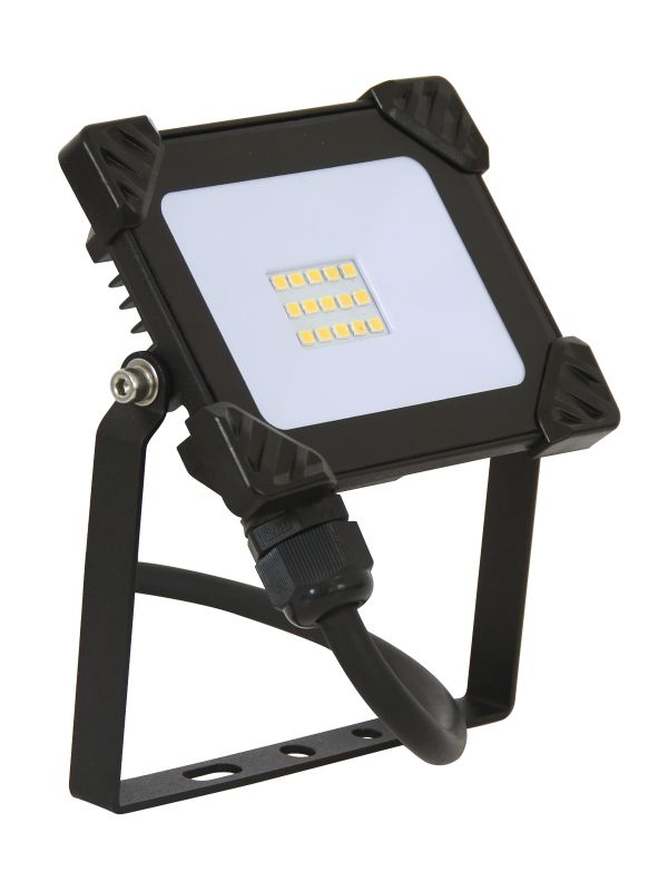 Ledlux Field 10w Led Exterior Flood Light In Black Beacon Lighting