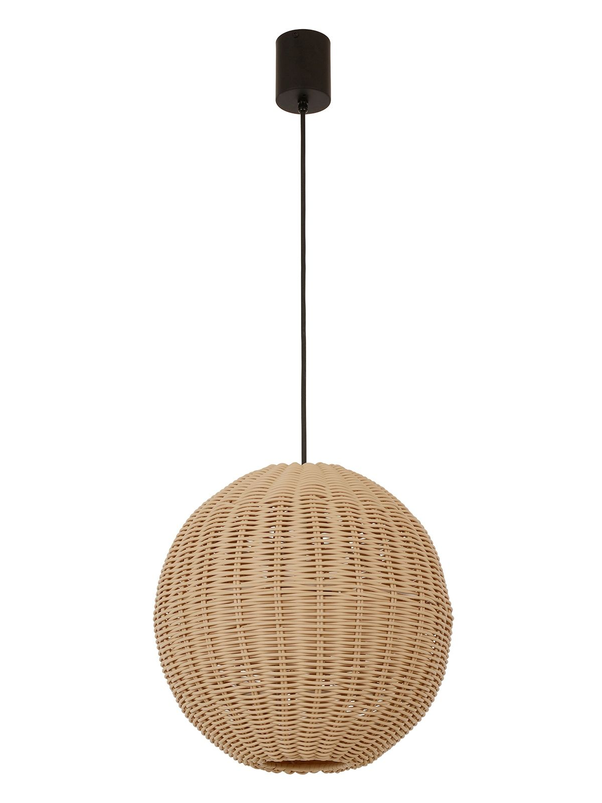Ledlux Lorne Led 1 Light Round Ip44 Dimmable Pendant In Natural Beacon Lighting