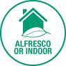 Alfresco or Indoor